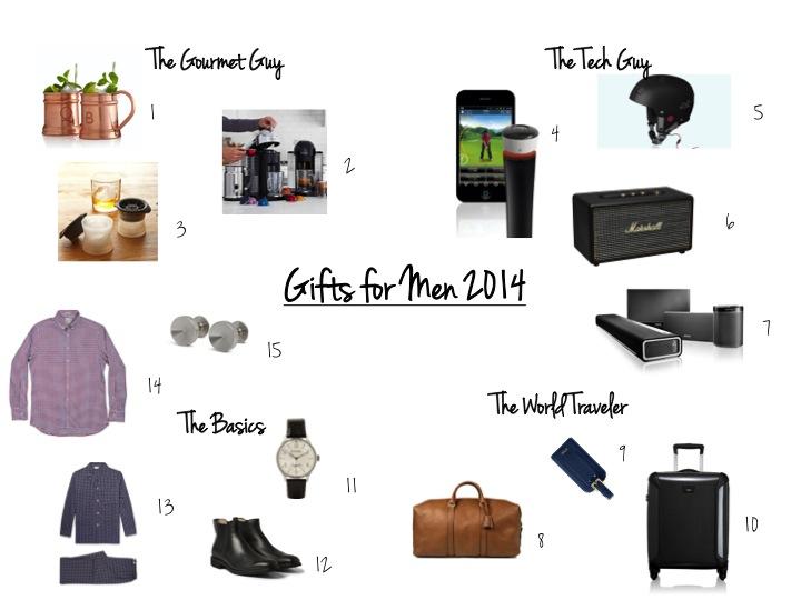 Gift List, Nespresso, Tumi, Tod's