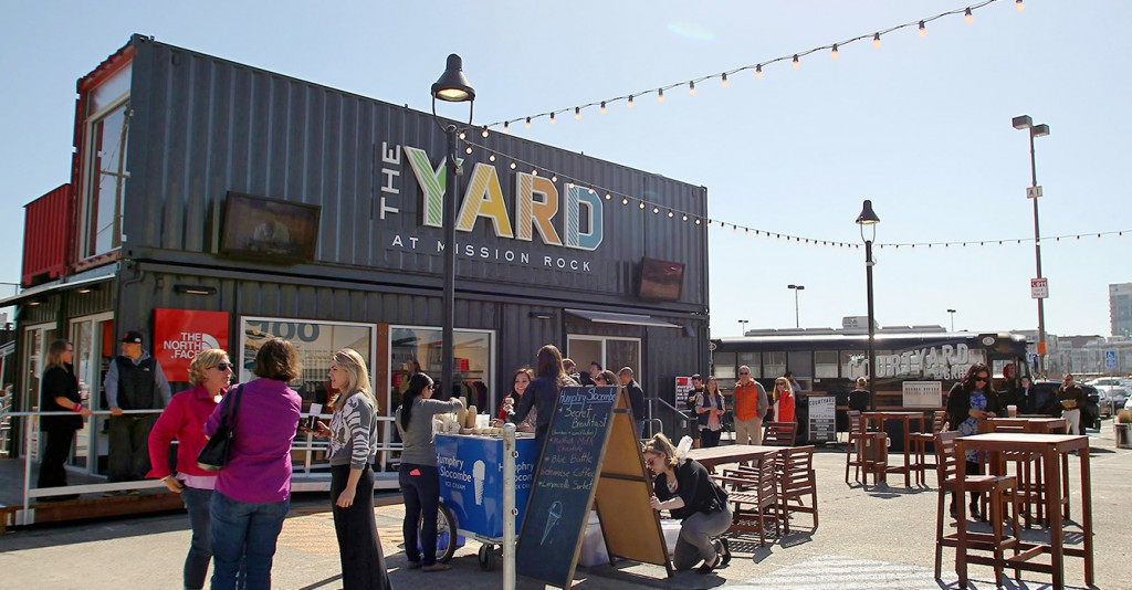 The Yard at Mission Rock, Anchor Brewing Company