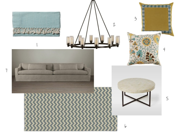 West Elm, Serena & Lily, Restoration hardware, LaceField Designs