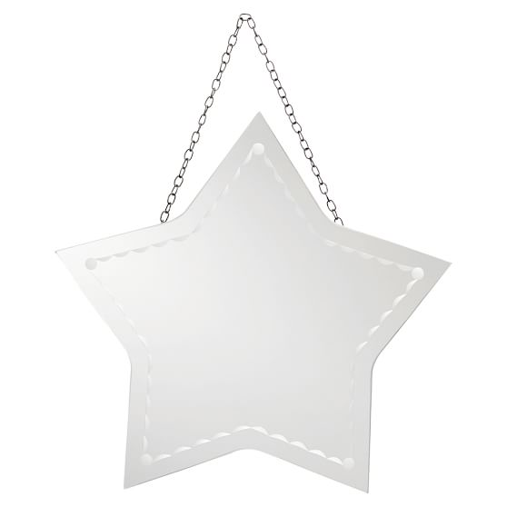star frameless mirror
